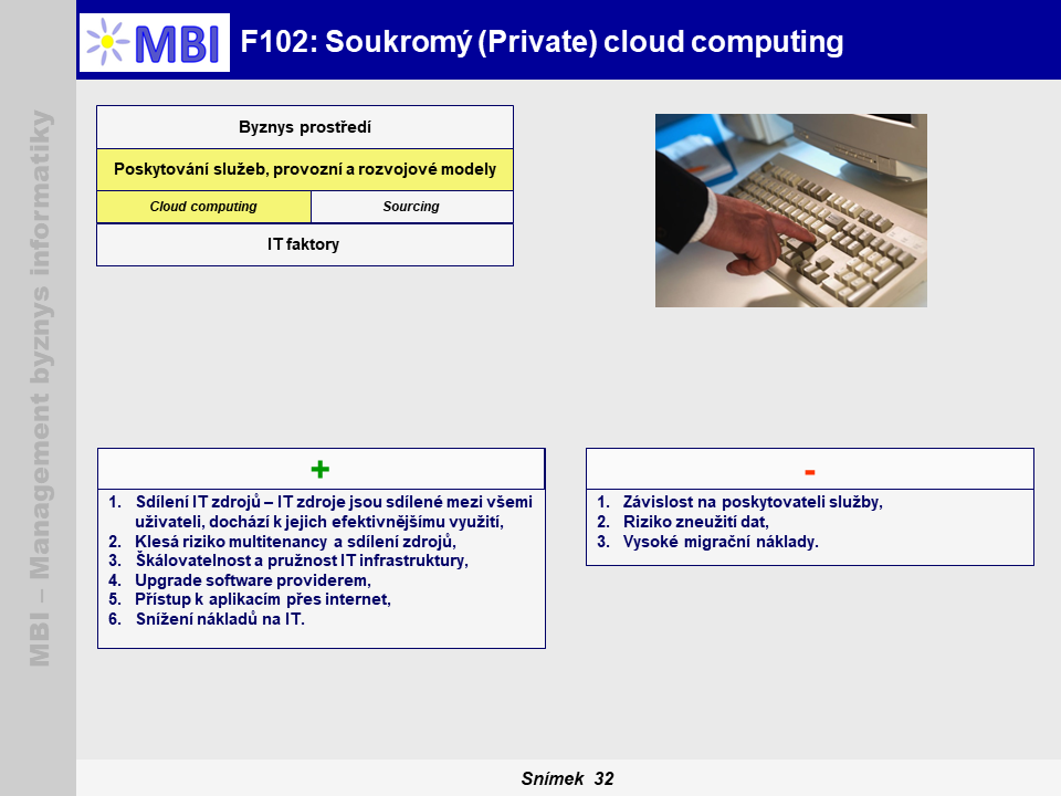 Soukromý (Private) cloud computing